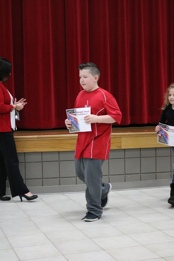 2018 - 2019 Third and Fourth Grade Awards' Assembly First Quarter