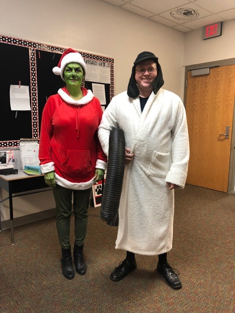 Grinch and Cousin Eddie